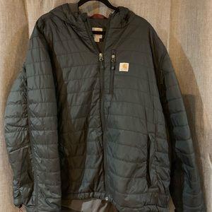 Men's Carhartt XXL black puffer jacket